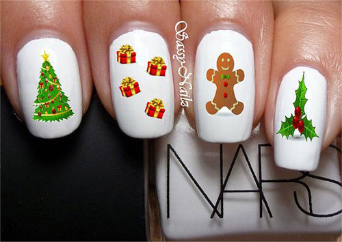 Cute Easy Christmas Nail Art Designs Ideas 2013 2014 10 Cute & Easy Christmas Nail Art Designs & Ideas 2013/ 2014