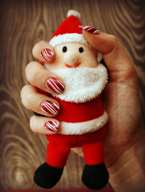 Cute Easy Christmas Nail Art Designs Ideas 2013 2014 12 Cute & Easy Christmas Nail Art Designs & Ideas 2013/ 2014