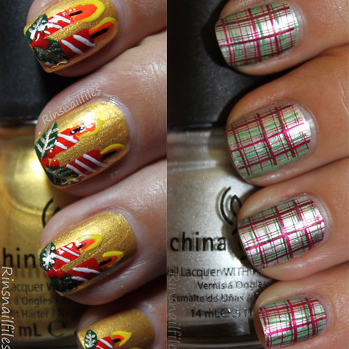 Cute Easy Christmas Nail Art Designs Ideas 2013 2014 15 Cute & Easy Christmas Nail Art Designs & Ideas 2013/ 2014