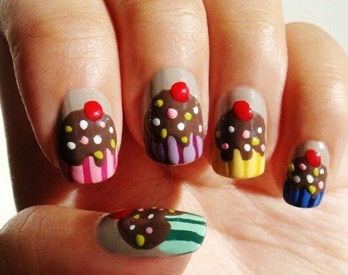 Cute Easy Christmas Nail Art Designs Ideas 2013 2014 4 Cute & Easy Christmas Nail Art Designs & Ideas 2013/ 2014