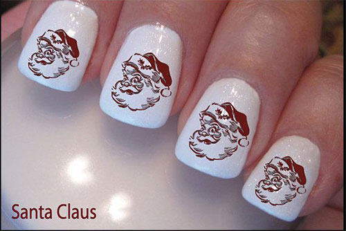 Cute Easy Christmas Nail Art Designs Ideas 2013 2014 7 Cute & Easy Christmas Nail Art Designs & Ideas 2013/ 2014