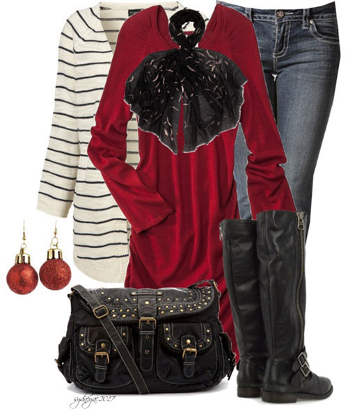 Latest Christmas Party Outfits 2013 2014 Polyvore Xmas Costumes Ideas 3 Latest Christmas Party Outfits 2013/ 2014 | Polyvore Xmas Costumes Ideas