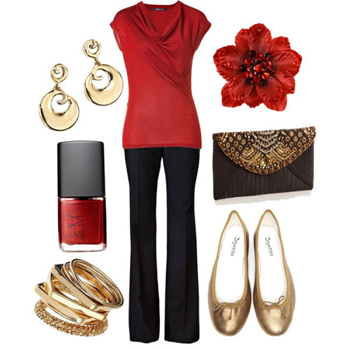Christmas party outfits 2013 2014 polyvore xmas costumes ideas 6