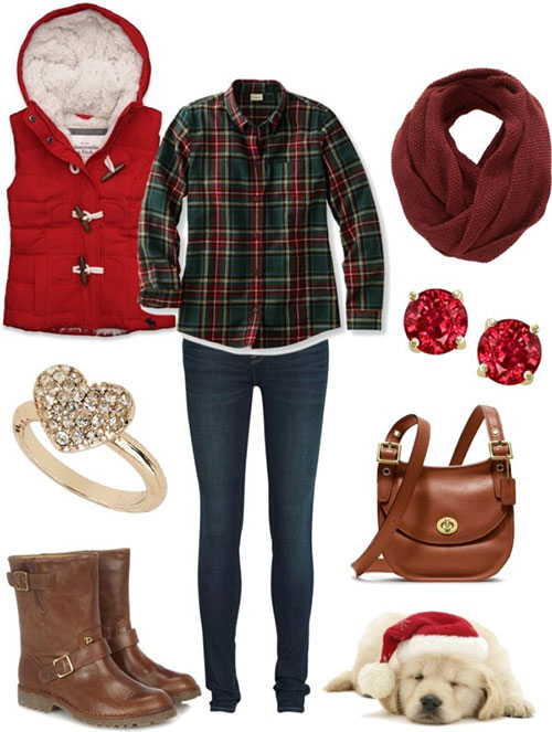 Christmas party outfits 2013 2014 polyvore xmas costumes ideas 10