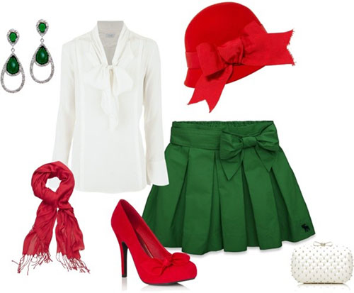 Christmas party outfits 2013 2014 polyvore xmas costumes ideas 15