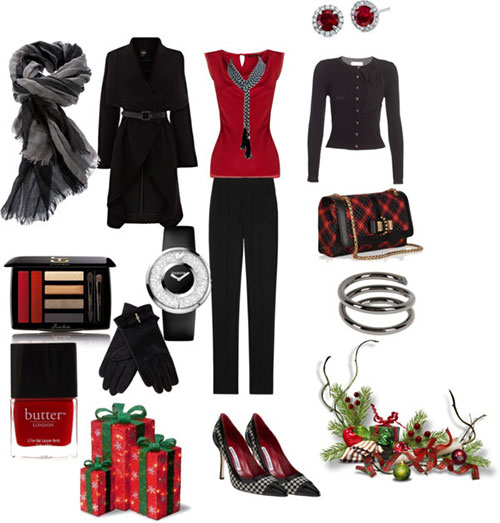 Christmas party outfits 2013 2014 polyvore xmas costumes ideas 7