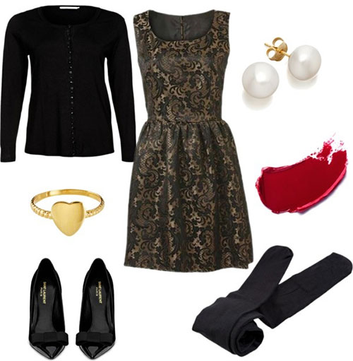 Christmas party outfits 2013 2014 polyvore xmas costumes ideas 9