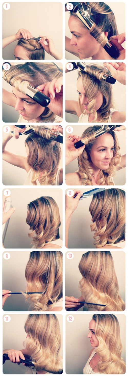 Hairstyles Xmas 2014 : Easy-Christmas-Hairstyle-Tutorials-For-Girls-2013-2014-Xmas-Hairstyle