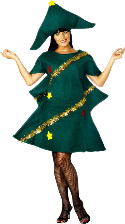 Home made christmas tree costume ideas for women 2013 2014 girlshue