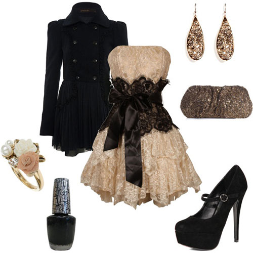 Amazing Polyvore Casual New Year Party Dresses For Girls 2013 2014 6 Amazing Polyvore Casual New Year Party Dresses For Girls 2013/ 2014