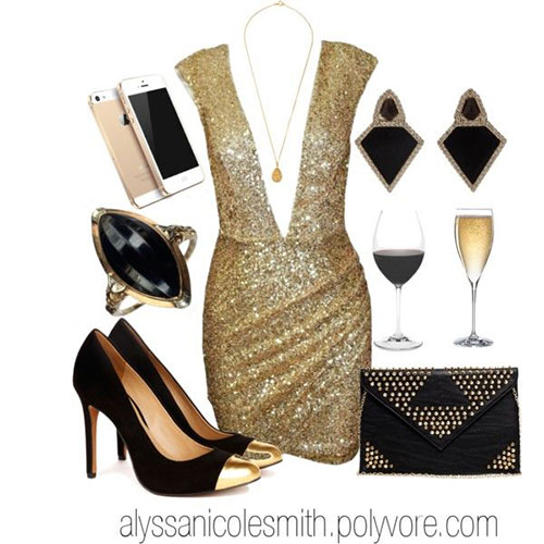 Polyvore Casual New Year Party Outfits For Girls 2013 2014 5 Polyvore Casual New Year Party Outfits For Girls 2013/ 2014