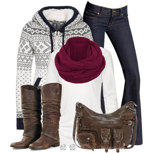 Polyvore Current Winter Fashion Trends & Outfit Ideas For Women 2014 ...