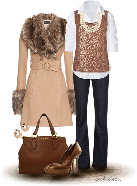 Polyvore Latest Winter Fashion Trends & Dresses Ideas For Women 2014 ...